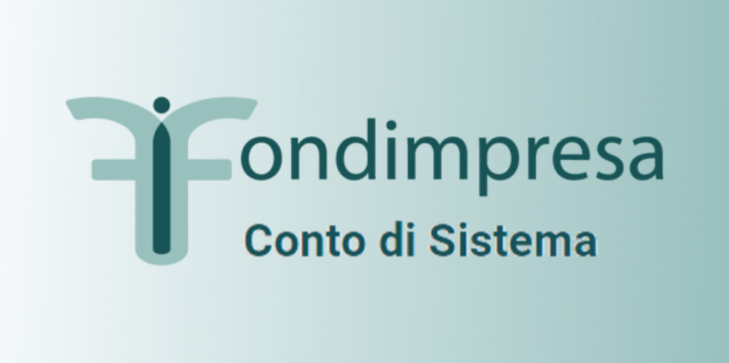 Logo di Fondimpresa-Conto di sistema. Il conto di Sistema di Fondimpresa è un conto collettivo pensato per sostenere la formazione nelle aziende aderenti, in particolare in quelle di piccole dimensioni.