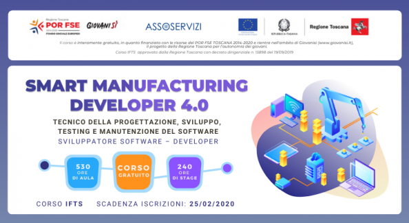 Corso IFTS Smart Manufacturing Grosseto