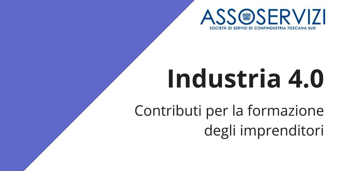 Industria 4.0 – Contributi per la formazione degli imprenditori