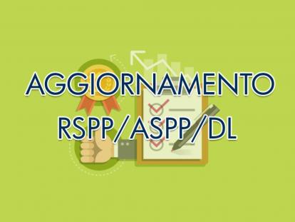 AGGIORNAMENTO RSPP/ASPP/DATORE DI LAVORO