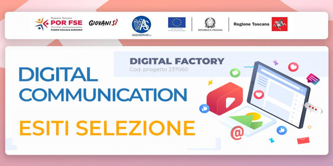 Esiti selezione corso Digital Communication