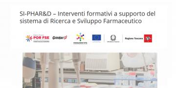 SI-PHAR&D – Corso Gratuito in Ambito Ricerca e Sviluppo Farmaceutico