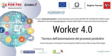 Esiti Iscrizioni Worker 4.0 – Tecnico dell'Automazione dei processi produttivi