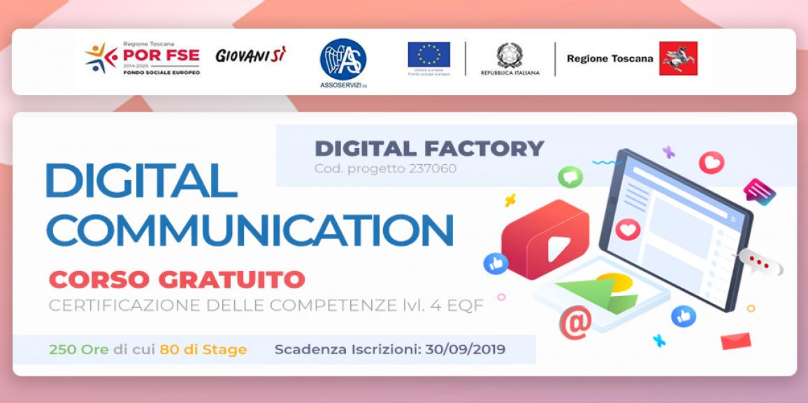 Corso gratuito in Digital Communication