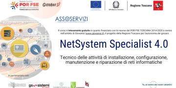 Esiti Iscrizioni NetSystem Specialist 4.0 – Tecnico delle attività di installazione, configurazione, manutenzione e riparazione di reti informatiche