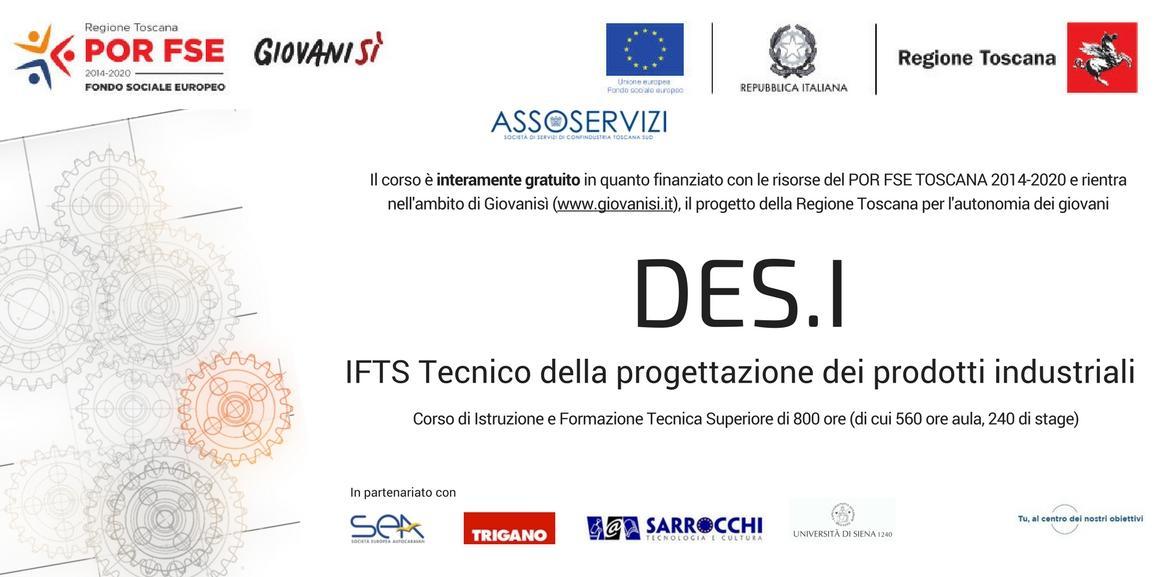 IFTS DES.I –  Tecniche di disegno e progettazione industriale