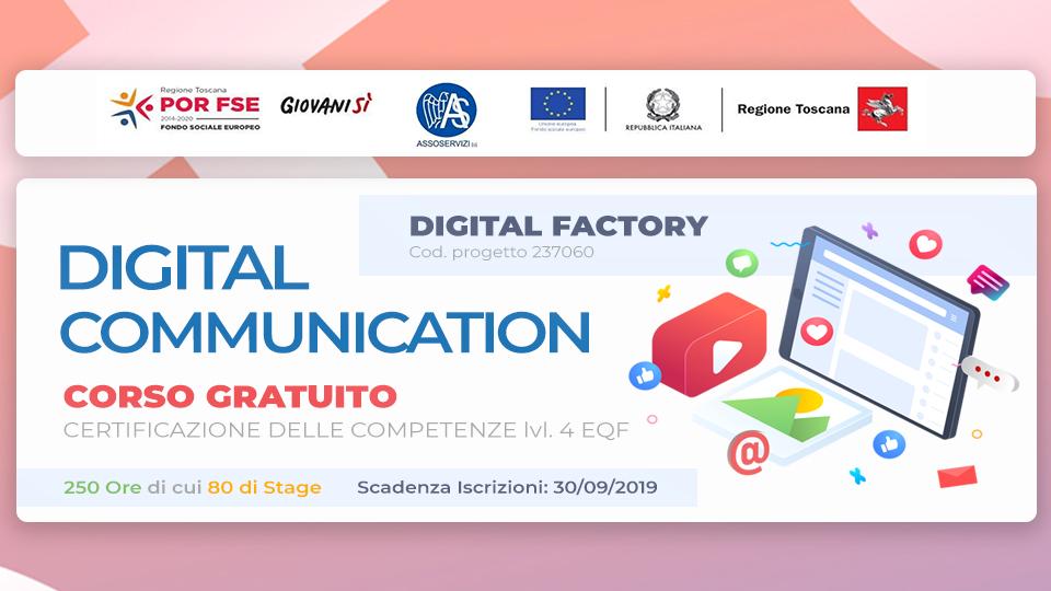Corso gratuito in Digital Communication