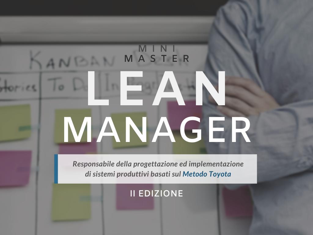 Mini Master LEAN MANAGER – II Edizione